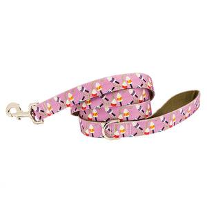 Our Good Dog Spot Salty Buoys Dog Lead Purple