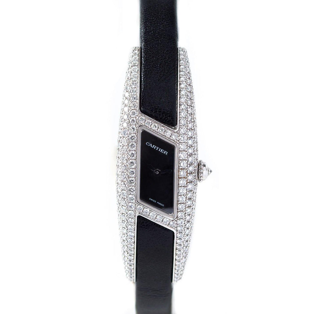 Cartier Himalia Privée Collection 18K White Gold and diamonds - Twain Time, Inc.