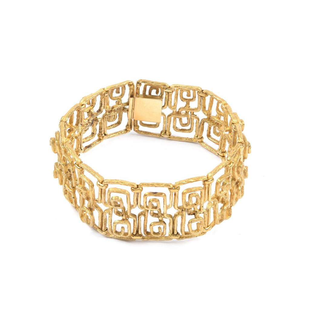 Zolotas Bracelet Greek Key 18K Yellow Gold - Twain Time, Inc.