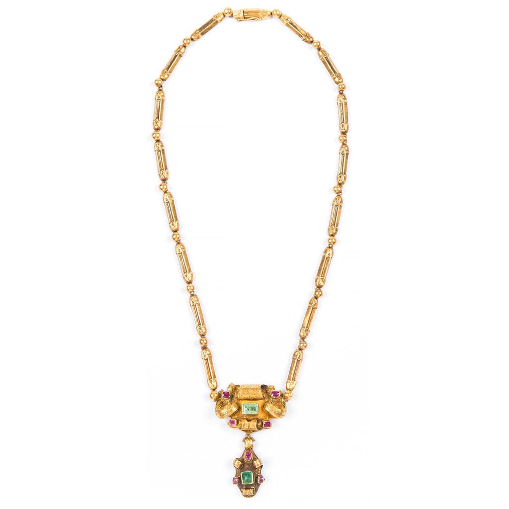 Victorian Suite - 21K Yellow Gold - Twain Time, Inc.