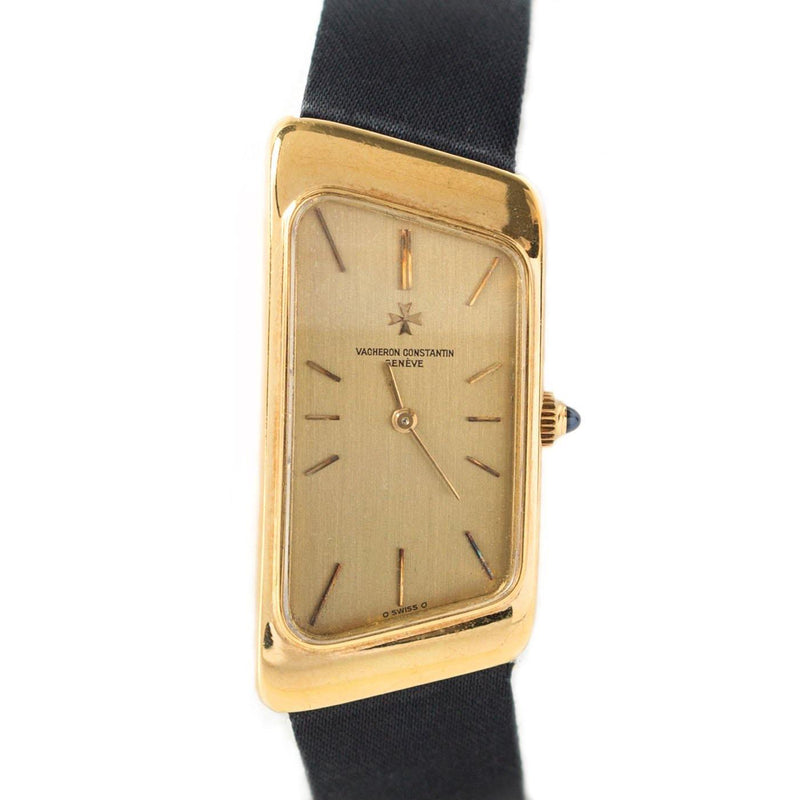 Vacheron Constantin 1972 Asymmetric Prestige de la France 18K Yellow Gold - Twain Time, Inc.