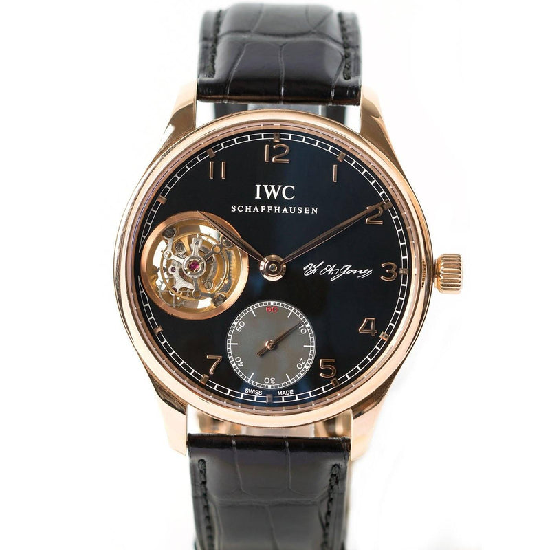 IWC Portugieser Tourbillon 18K Rose Gold - Twain Time, Inc.