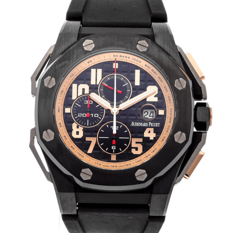 Audemars Piguet Royal Oak Offshore Chronograph Arnold Schwarzenegger The Legacy Limited Edition - Twain Time, Inc.