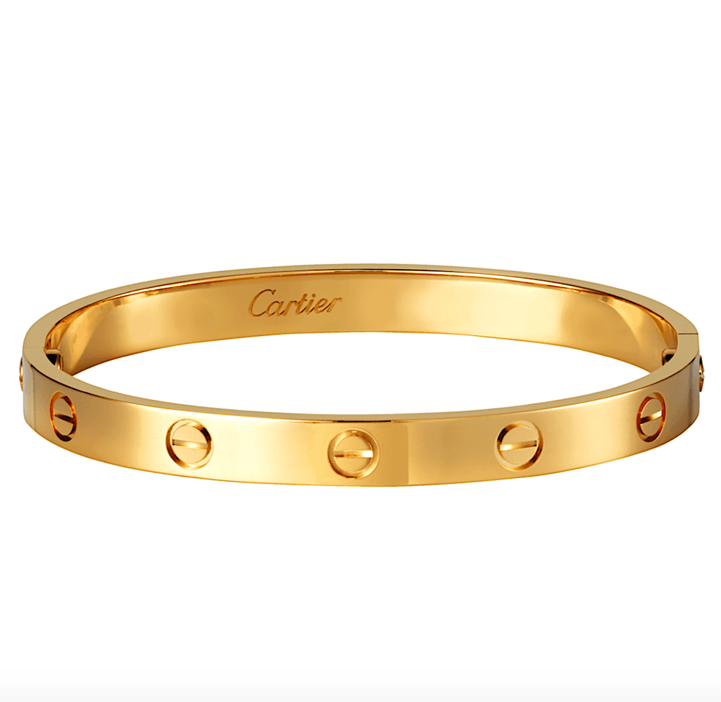 Cartier Love Bracelet 18K Yellow Gold - Twain Time, Inc.