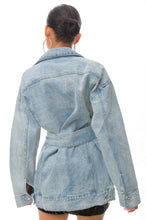 Lost Lover Dress - Blue Denim
