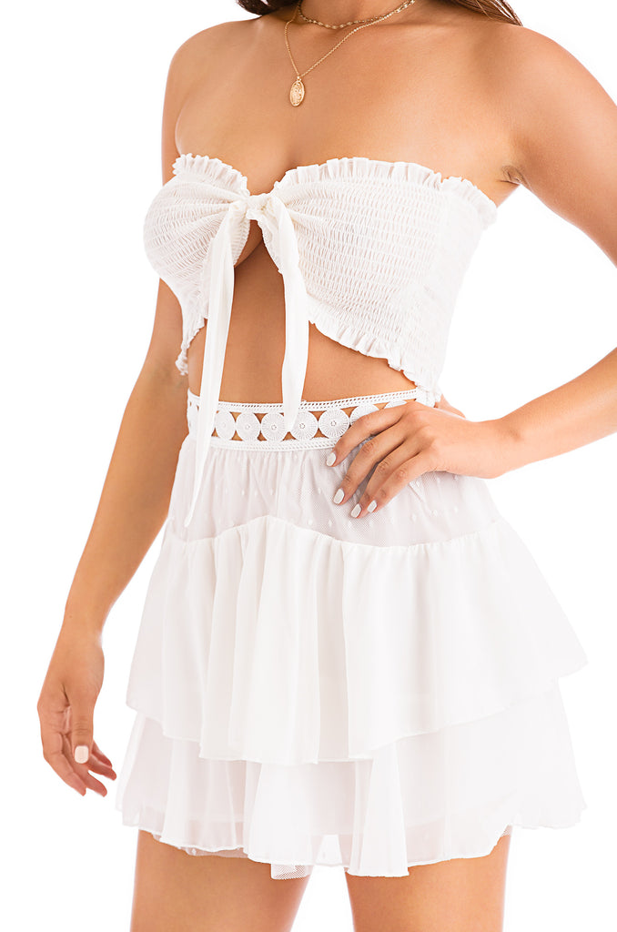Springtime Sass Set - White