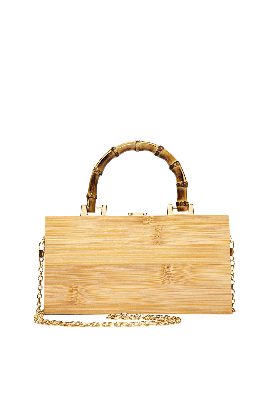 Off To Bali Clutch - Natural