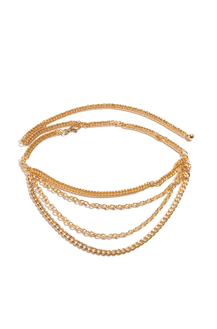 Giovanna Chain Belt - Gold