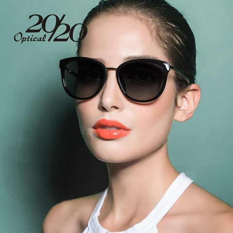 20/20 Retro Style Metal Frame Sunglasses