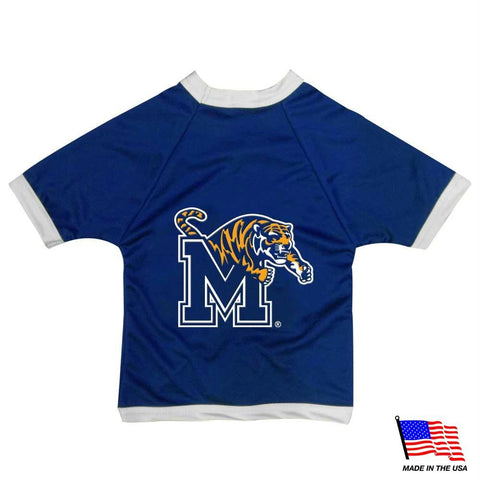 Memphis Tigers Athletic Mesh Pet Jersey