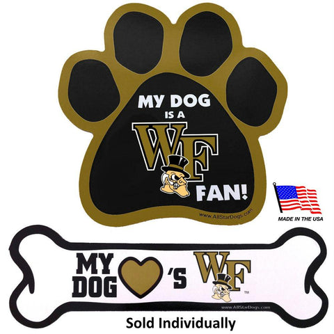 Wake Forest Demon Deacons Car Magnets