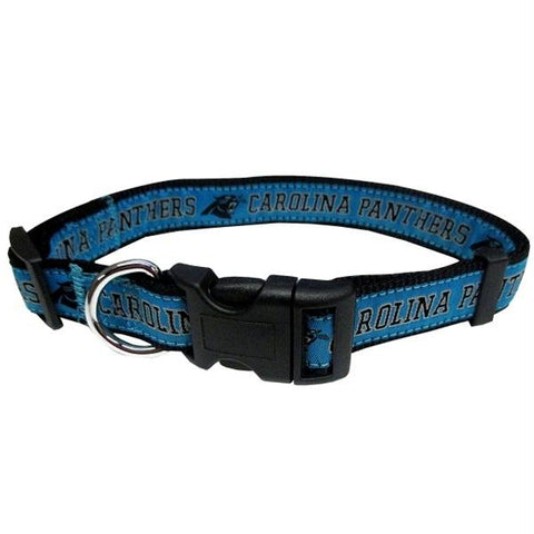 Carolina Panthers Pet Collar by Pets First - XL