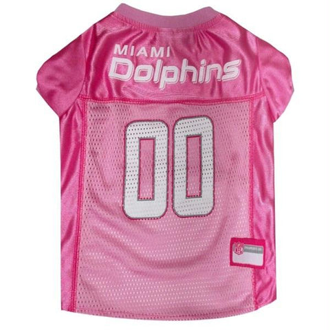 Miami Dolphins Pink Pet Jersey