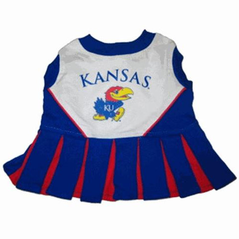 Kansas Jayhawks Cheerleader Dog Dress