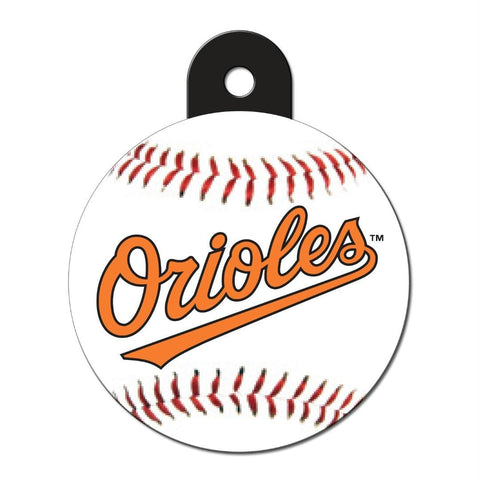 Baltimore Orioles Circle ID Tag