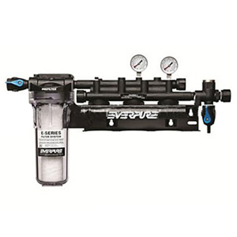"Everpure EV9293-03 Coldrink/Insurice Triple Manifold with 10"" Prefilter"
