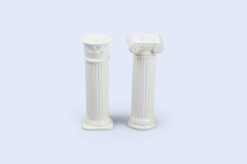 Hestia: Ceramic Salt and Pepper Shakers