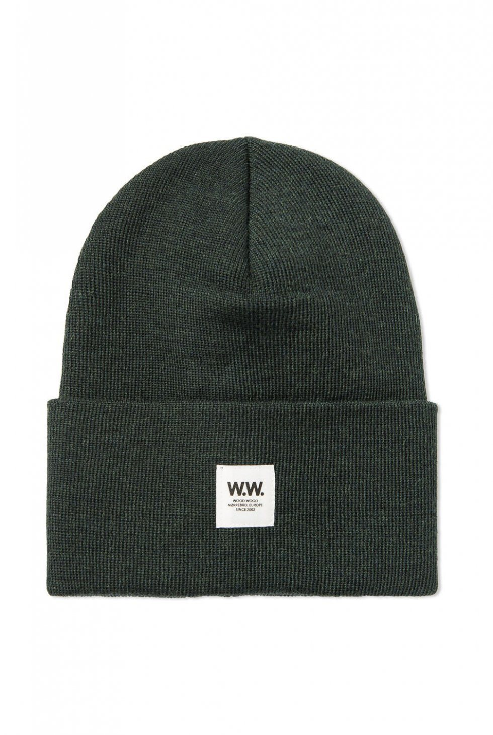 Gerald Tall Beanie Dark Green