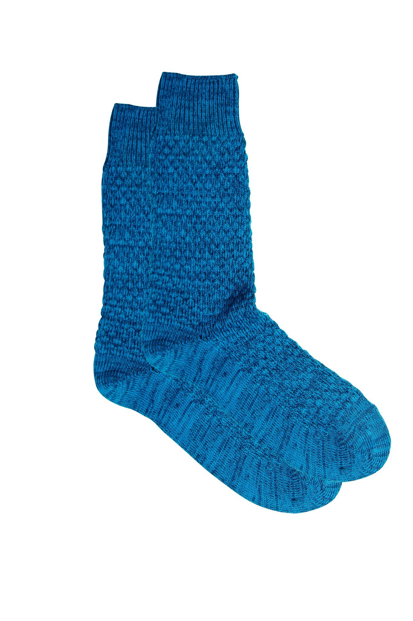 Oscar Sock Blue Sock MP Crafted Garments - der ZEITGEIST