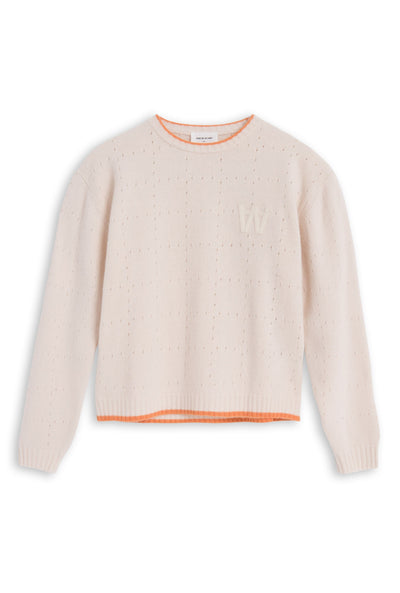 Caitlin Sweater Off White Sweater Wood Wood - der ZEITGEIST