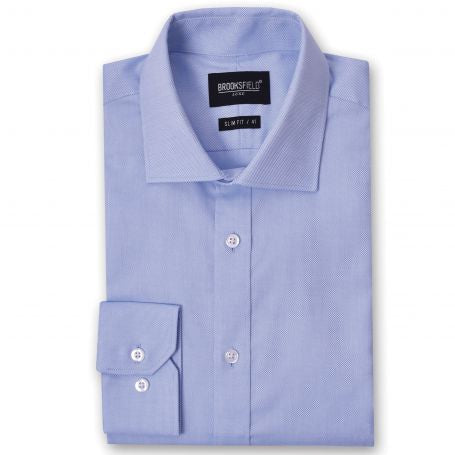 Brooksfield Shirt - Entrepeneur Blue