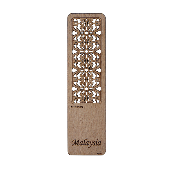 Wood Veneer Bookmarks - Woodcarving
