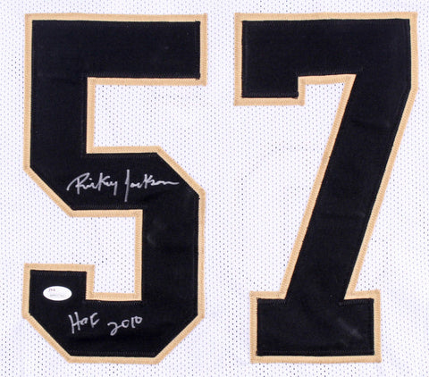 "Ricky Jackson Signed New Orleans Saints Jersey Inscribed ""HOF 2010"" (JSA COA)"