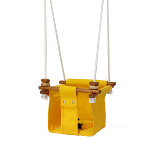 Solvej Swings Baby and Toddler Swing – Kowhai Yellow
