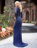 Primavera Couture 3189 Full Sleeve Embellish Gown