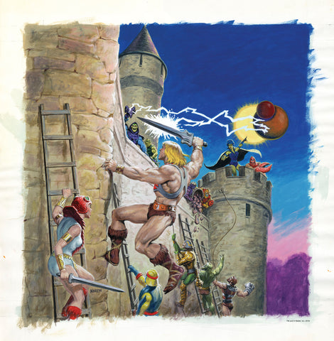 Masters of the Universe Art Print - Power from the Sky by Earl Norem