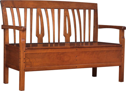 Blacker House Shoe Bench Bench Stickley - Jordans Interiors
