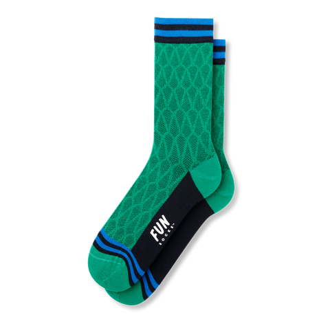 Women's Grid Socks - Fun Socks