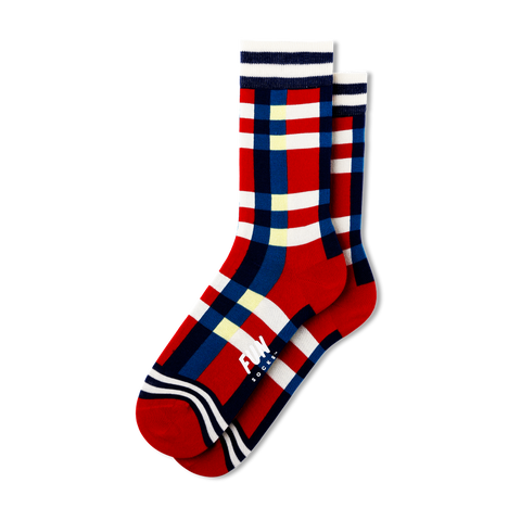 Women's Plaid Socks - Fun Socks
