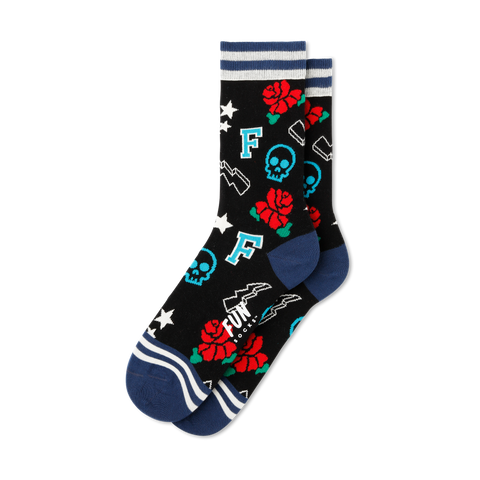 Women's Rock & Roll Socks - Fun Socks
