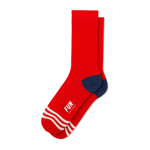 Women's Wide Rib Socks - Fun Socks
