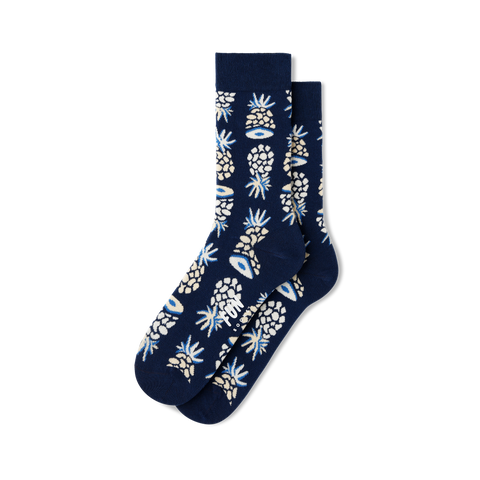 Women's Pineapple Socks - Fun Socks