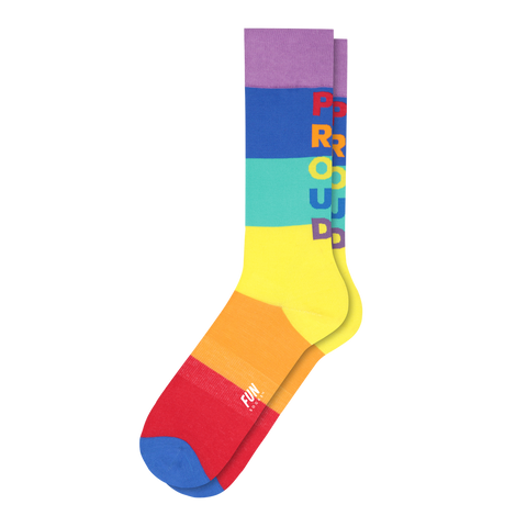 Men's Pride Stripe Socks