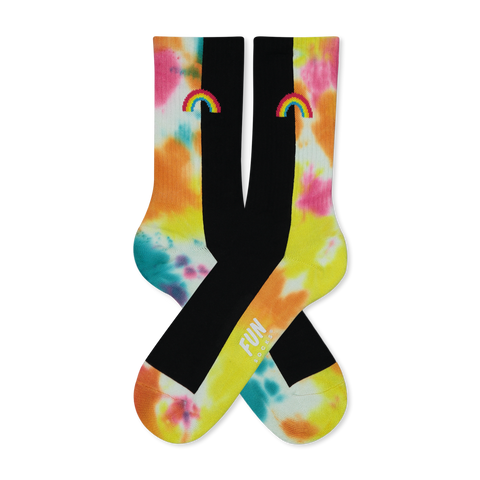 Women's Rainbow Athletic Socks
