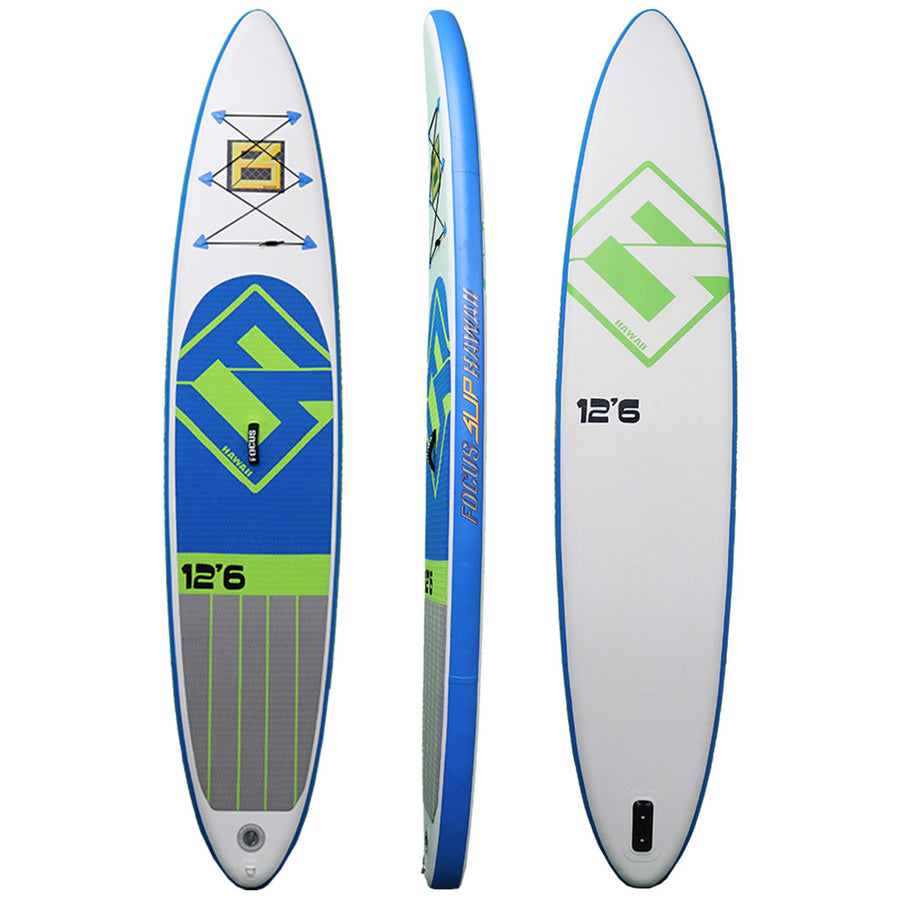 Focus Inflatable Sup Board 12'6 Package