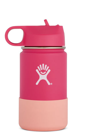 Hydro Flask 12 oz Kids Wide Mouth w/ Straw Lid - Watermelon