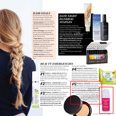 Harmoni's Kiss features in Women's Health & Fitness magazine