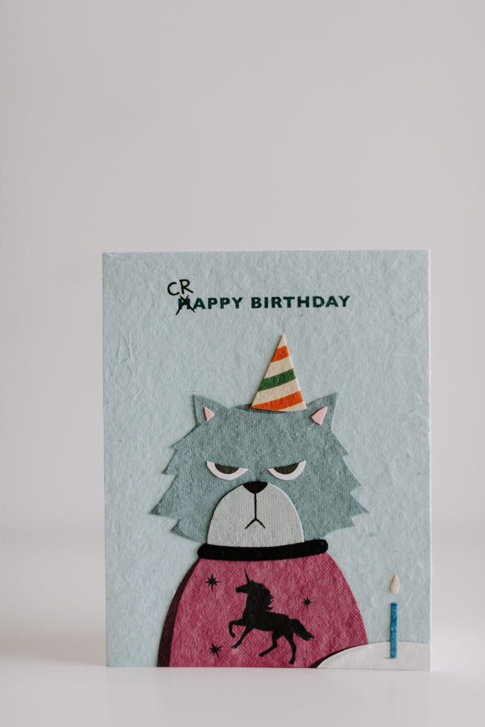 Grumpy Card Birthday Card