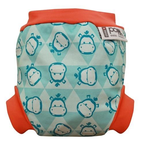 Pop In Swim Nappy (Medium, Hippo)