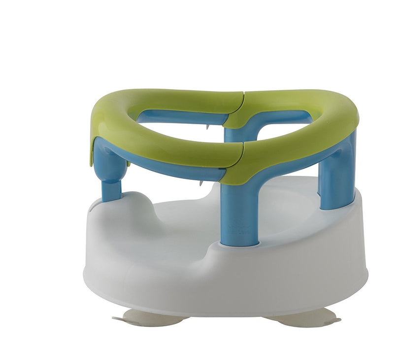 Rotho Babydesign Aquamarine Baby Bath Seat (White/Apple Greeen)