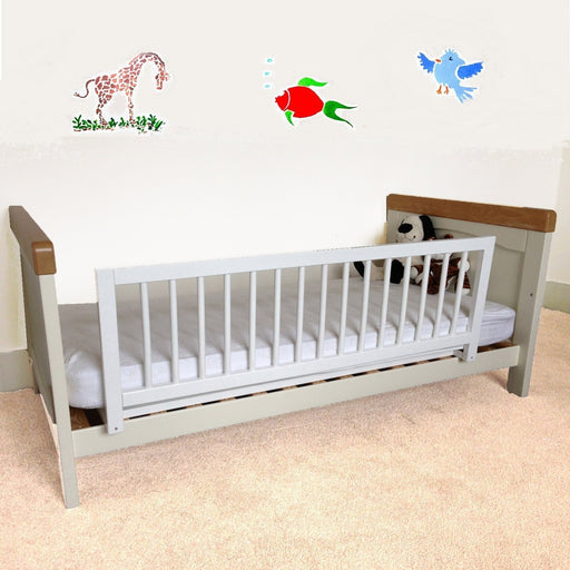 Safetots Wooden Bed Rail, White