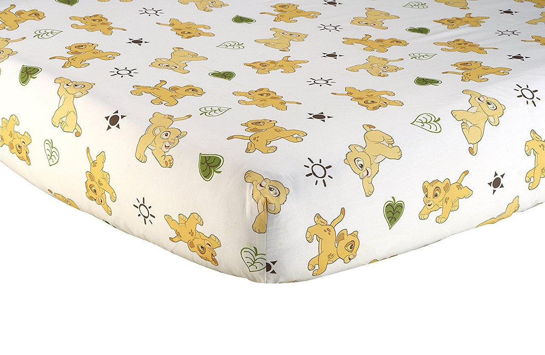 "Disney Lion King ""Go Wild"" Crib Sheet"