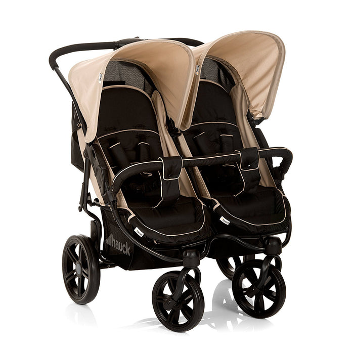 Hauck Roadster Duo SLX Double Pushchair (Caviar/Almond)