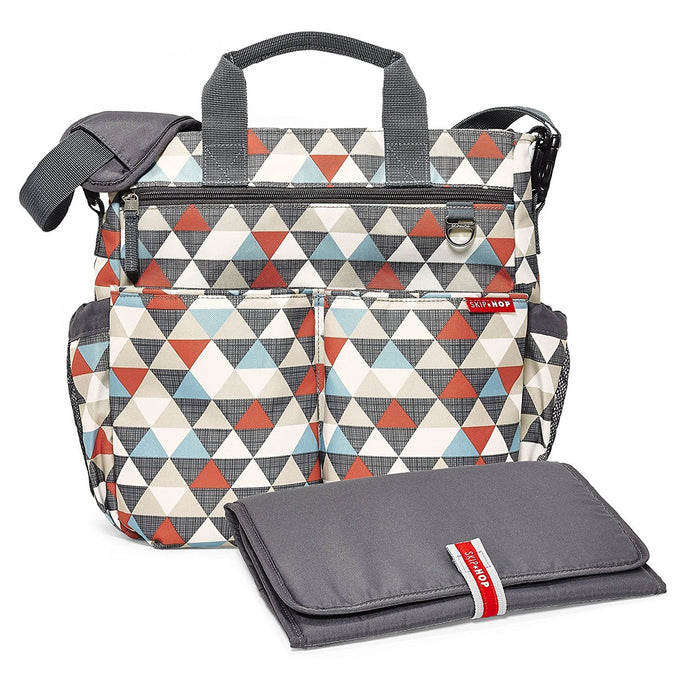 Skip Hop Duo Signature Changing Bag (Triangle)
