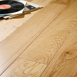 14/3 Lacquered Oak 150mm - Floors 4 You Online