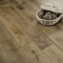 15/4 Smoked Oak 220mm - Floors 4 You Online